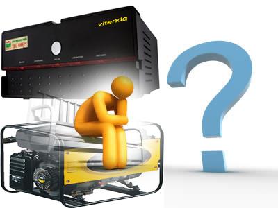 Chọn mua máy phát điện hay máy kích điện