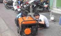Lưu ý khi sử dụng DV sửa chữa máy phát điện